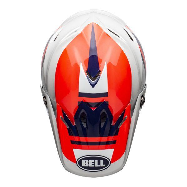 bell-moto-9-mips-dirt-helmet-prophecy-gloss-infrared-navy-gray-top__93241.jpg-Bell MX 2021 Moto-9 Mips Adult Helmet (Prophecy Gloss Infrared/Navy/Gray)