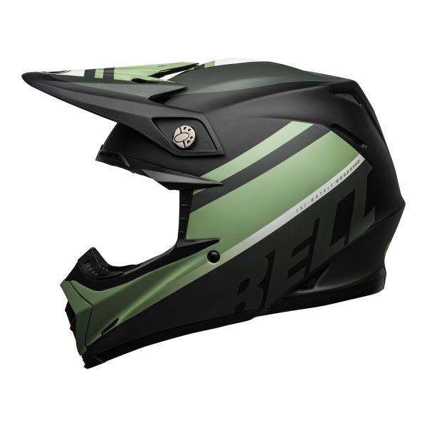 bell-moto-9-mips-dirt-helmet-prophecy-matte-black-dark-green-left__21950.jpg-Bell MX 2021 Moto-9 Flex Adult Helmet (Breakaway Matte Navy/Light Blue)