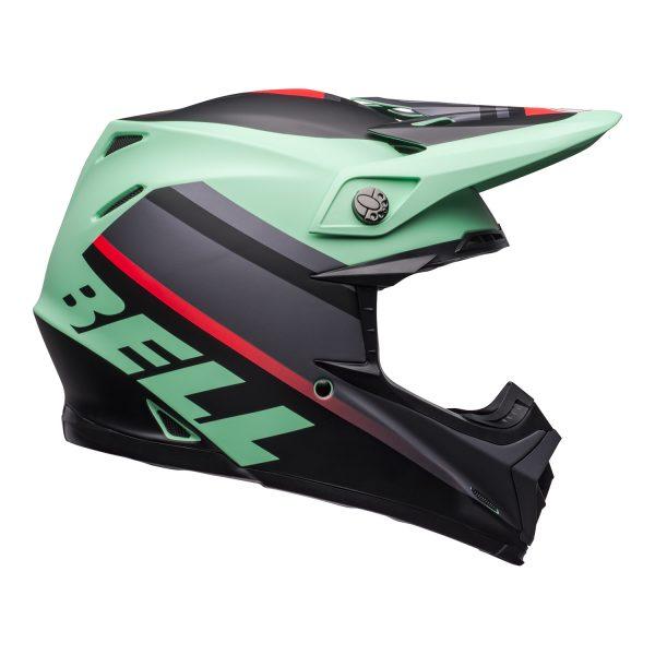 bell-moto-9-mips-dirt-helmet-prophecy-matte-green-infrared-black-right.jpg-Bell MX 2021 Moto-9 Mips Adult Helmet (Prophecy Matte Green/Infrared/Black)
