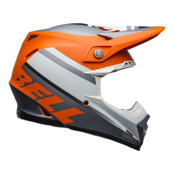 bell-moto-9-mips-dirt-helmet-prophecy-matte-orange-black-gray-right.jpg-Bell MX 2021 Moto-9 Mips Adult Helmet (Prophecy Matte Orange/Black/Gray)