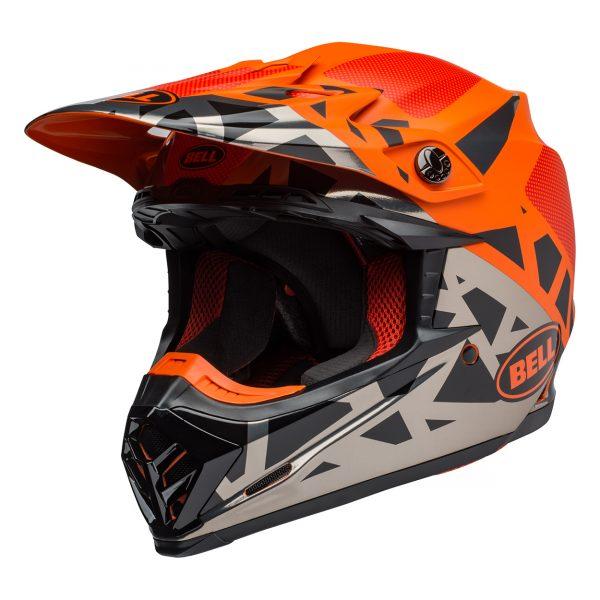 bell-moto-9-mips-dirt-helmet-tremor-matte-gloss-black-orange-chrome-front-left__49065.jpg-Bell MX 2021 Moto-9 Mips Adult Helmet (Tremor Black/Orange/Chrome)