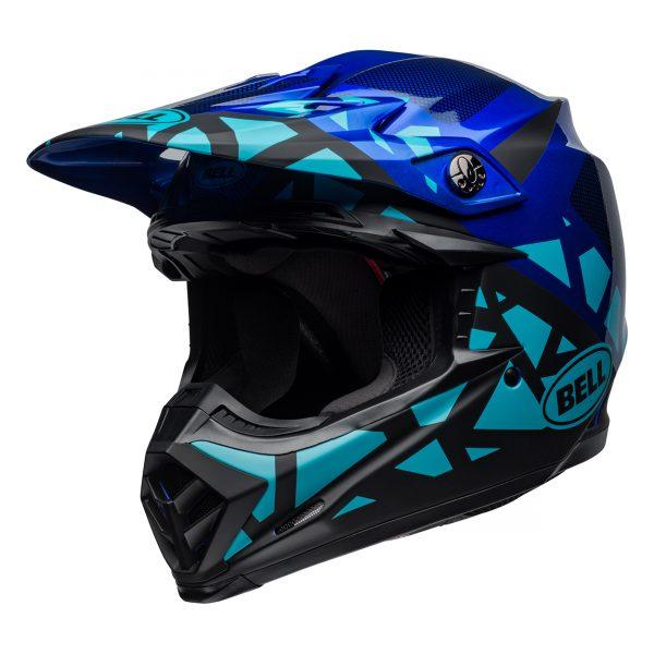 bell-moto-9-mips-dirt-helmet-tremor-matte-gloss-blue-black-front-left__62899.jpg-Bell MX 2021 Moto-9 Mips Adult Helmet (Tremor Blue/Black)
