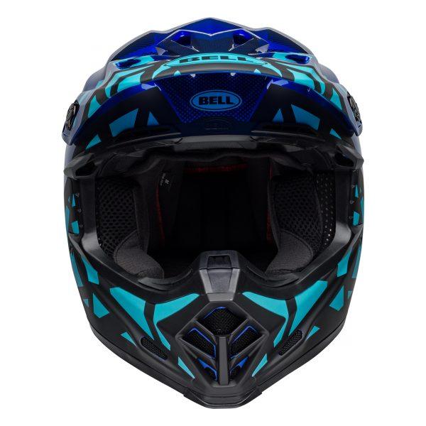 bell-moto-9-mips-dirt-helmet-tremor-matte-gloss-blue-black-front__59113.jpg-Bell MX 2021 Moto-9 Mips Adult Helmet (Tremor Blue/Black)