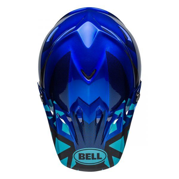 bell-moto-9-mips-dirt-helmet-tremor-matte-gloss-blue-black-top__91516.jpg-Bell MX 2021 Moto-9 Mips Adult Helmet (Tremor Blue/Black)