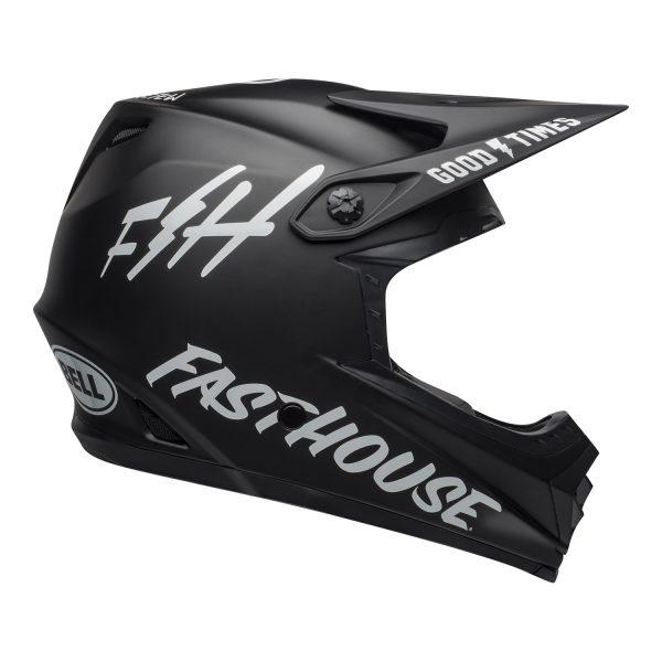 bell-moto-9-youth-mips-dirt-helmet-fasthouse-matte-black-white-right.jpg-Bell MX 2021 Moto-9 Youth MIPS (Fasthouse Helmet Matte Black/White)