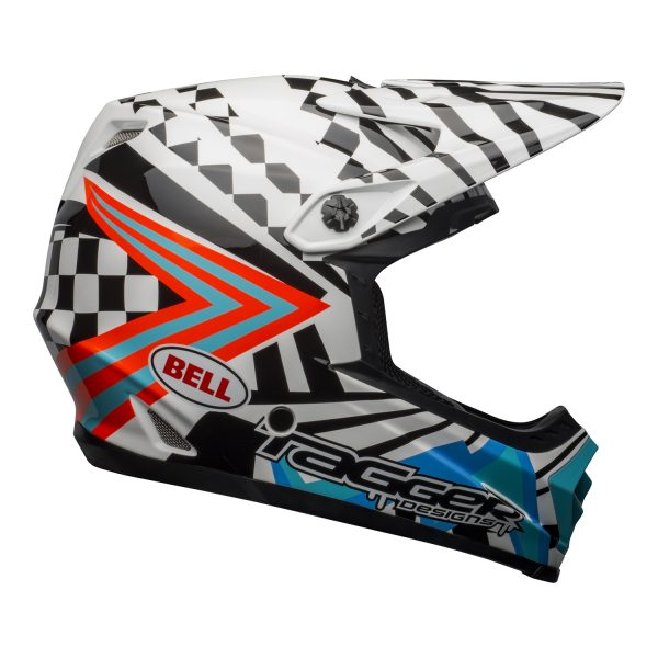 bell-moto-9-youth-mips-dirt-helmet-tagger-check-me-out-gloss-black-white-blue-right__92459.jpg-Bell MX 2021 Moto-9 Youth MIPS (Check Me Out White/Black)