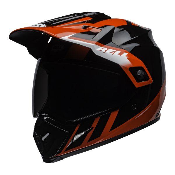 bell-mx-9-adventure-mips-dirt-helmet-dash-gloss-black-red-white-front-left.jpg-Bell MX 2021 MX-9 Adventure Mips Adult Helmet (Dash Black/Red/White)