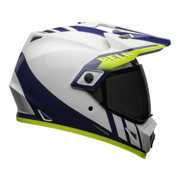 bell-mx-9-adventure-mips-dirt-helmet-dash-gloss-white-blue-hi-viz-right.jpg-Bell MX 2021 MX-9 Adventure Mips Adult Helmet (Dash White/Blue/Hi Viz)