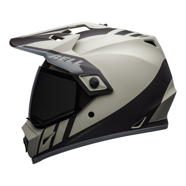bell-mx-9-adventure-mips-dirt-helmet-dash-matte-sand-brown-gray-left.jpg-Bell MX 2021 MX-9 Adventure Mips Adult Helmet (Dash Sand/Brown/Grey)