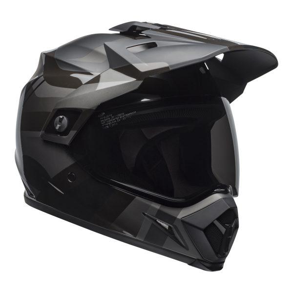 bell-mx-9-adventure-mips-dirt-helmet-marauder-matte-gloss-blackout-front-right.jpg-Bell MX 2021 MX-9 Adventure Mips Adult Helmet (Blackout Matte/Gloss Black)