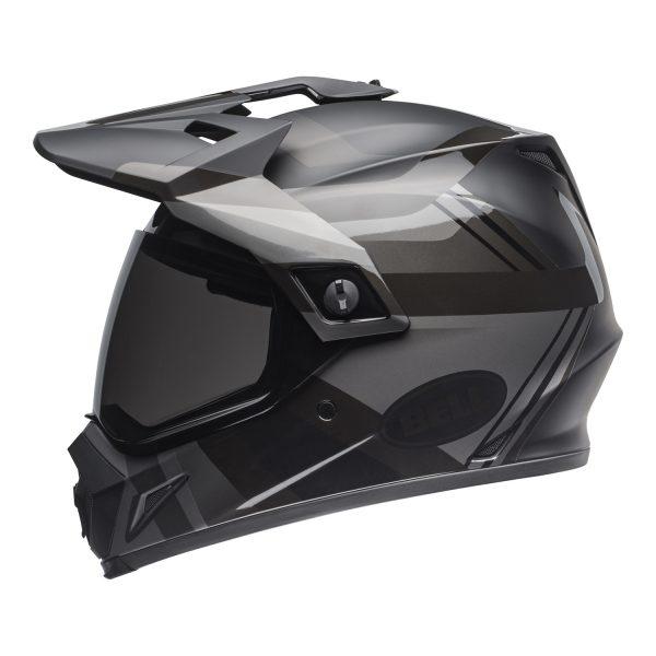 bell-mx-9-adventure-mips-dirt-helmet-marauder-matte-gloss-blackout-left.jpg-Bell MX 2021 MX-9 Adventure Mips Adult Helmet (Blackout Matte/Gloss Black)