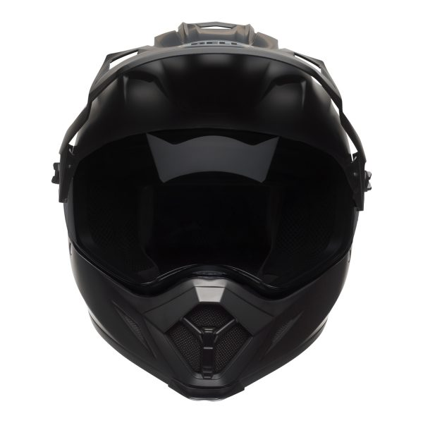 bell-mx-9-adventure-mips-dirt-helmet-matte-black-front.jpg-Bell MX 2021 MX-9 Adventure Mips Adult Helmet (Matte Black)