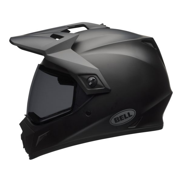 bell-mx-9-adventure-mips-dirt-helmet-matte-black-left.jpg-Bell MX 2021 MX-9 Adventure Mips Adult Helmet (Matte Black)