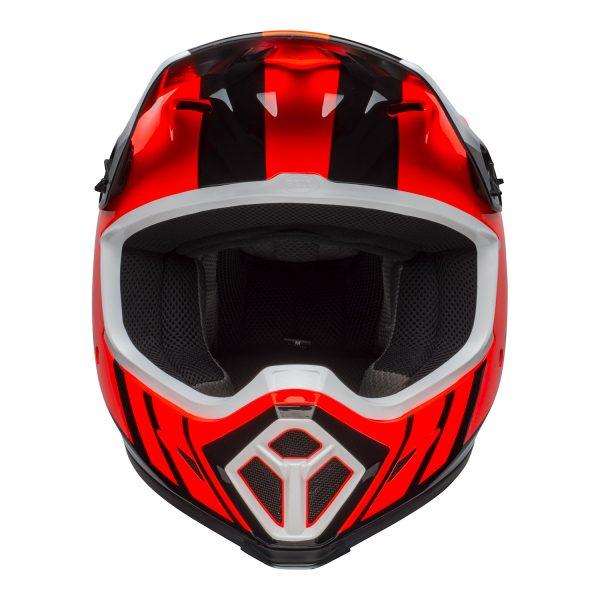 bell-mx-9-mips-dirt-helmet-dash-gloss-orange-black-front.jpg-Bell MX 2021 MX-9 Mips Adult Helmet (Dash Orange/Black)