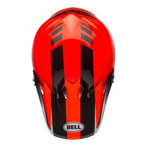 Bell MX 2021 MX-9 Mips Adult Helmet (Dash Orange/Black)