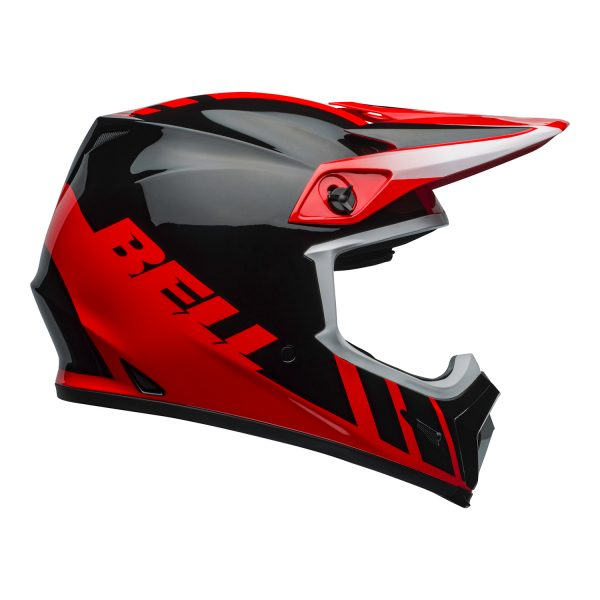 bell-mx-9-mips-dirt-helmet-dash-gloss-red-black-right.jpg-Bell MX 2021 MX-9 Mips Adult Helmet (Dash Red/Black)