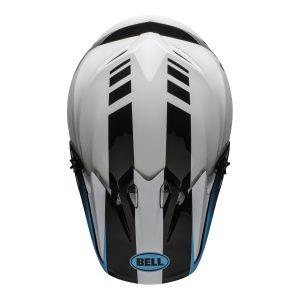 Bell MX 2021 MX-9 Mips Adult Helmet (Dash White/Blue)