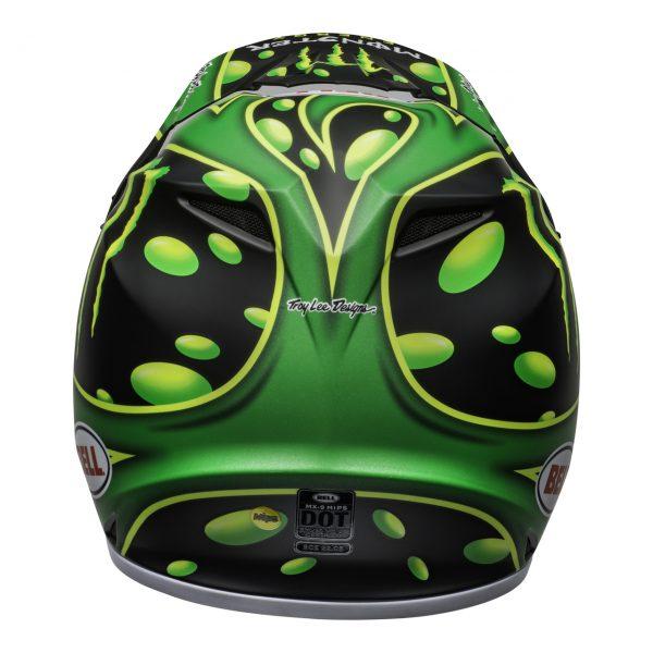 bell-mx-9-mips-dirt-helmet-mcgrath-showtime-replica-matte-black-green-back__04604.1558520765.jpg-Bell MX 2021 MX-9 MIPS Adult Helmet (Mcgrath Showtime Black/Green)