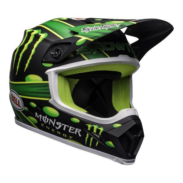 bell-mx-9-mips-dirt-helmet-mcgrath-showtime-replica-matte-black-green-front-right__16492.1558520765.jpg-Bell MX 2021 MX-9 MIPS Adult Helmet (Mcgrath Showtime Black/Green)