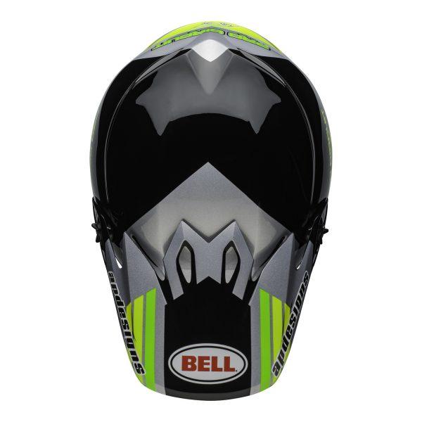 bell-mx-9-mips-dirt-helmet-pro-circuit-replica-20-gloss-black-green-top.jpg-Bell MX 2021 MX-9 Mips Adult Helmet (PC Black/Green)