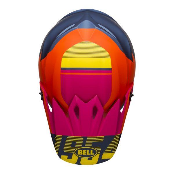 bell-mx-9-mips-dirt-helmet-strike-matte-blue-orange-pink-top__76873.jpg-Bell MX 2021 MX-9 Mips Adult Helmet (Strike Matte Blue/Orange/Pink)