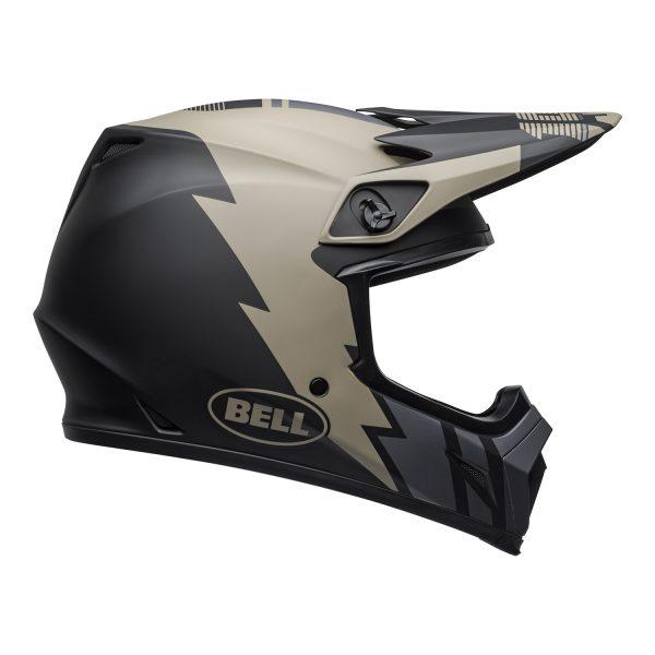 bell-mx-9-mips-dirt-helmet-strike-matte-khaki-black-right.jpg-Bell MX 2021 MX-9 Mips Adult Helmet (Strike Matte Khaki/Black)