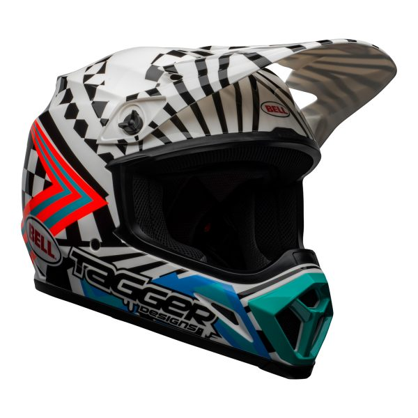 bell-mx-9-mips-dirt-helmet-tagger-check-me-out-gloss-black-white-front-right__21219.jpg-Bell MX 2021 MX-9 Mips Adult Helmet (Check Me Out White/Black)