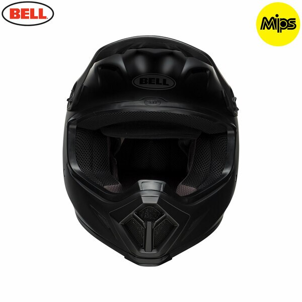 bell-mx-9-mips-off-road-helmet-matte-black-f-copy__60237.1505917412.jpg-Bell MX 2021 MX-9 Mips Adult Helmet (Matte Black)