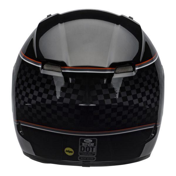 bell-qualifier-dlx-mips-street-helmet-breadwinner-gloss-black-white-back-BELL QUALIFIER DLX MIPS BREADWINNER GLOSS BLACK WHITE
