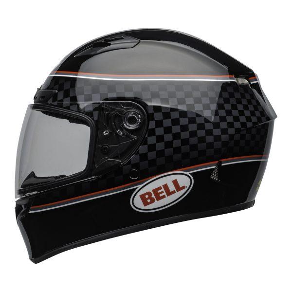 bell-qualifier-dlx-mips-street-helmet-breadwinner-gloss-black-white-clear-shield-left-BELL QUALIFIER DLX MIPS BREADWINNER GLOSS BLACK WHITE