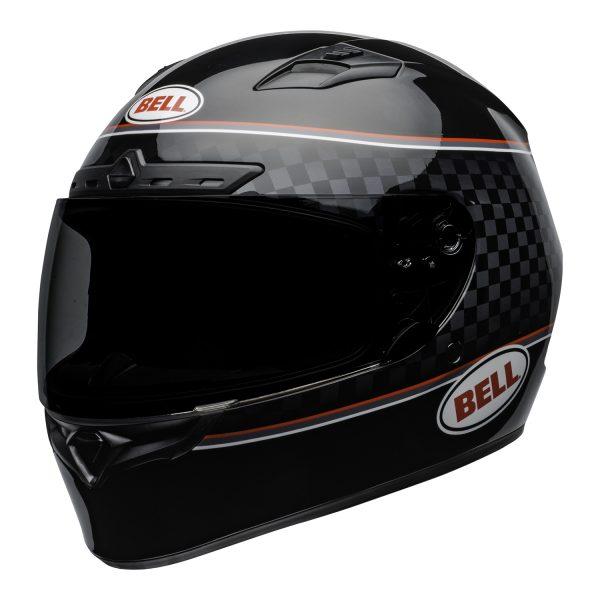 bell-qualifier-dlx-mips-street-helmet-breadwinner-gloss-black-white-front-left-BELL QUALIFIER DLX MIPS BREADWINNER GLOSS BLACK WHITE
