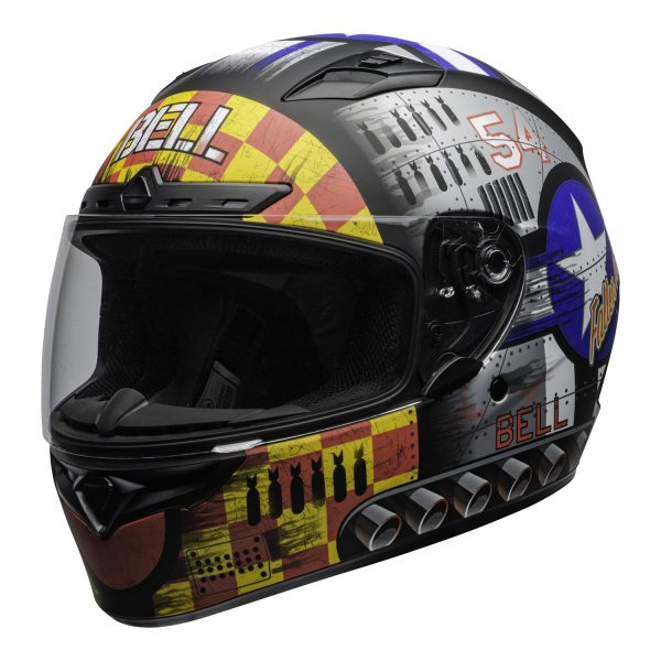 bell-qualifier-dlx-mips-street-helmet-devil-may-care-2020-matte-gray-clear-shield-front-left-BELL QUALIFIER DLX MIPS DEVIL MAY CARE MATT GREY