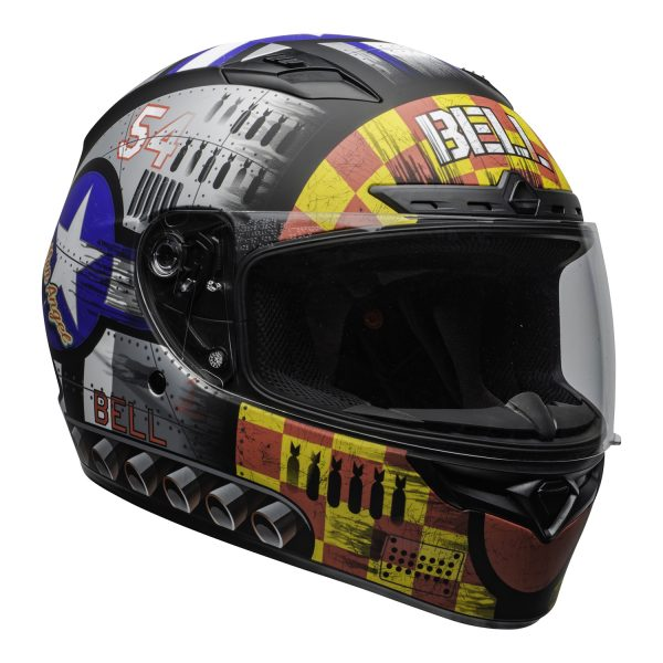 bell-qualifier-dlx-mips-street-helmet-devil-may-care-2020-matte-gray-clear-shield-front-right-BELL QUALIFIER DLX MIPS DEVIL MAY CARE MATT GREY