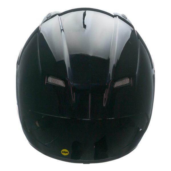 bell-qualifier-dlx-mips-street-helmet-gloss-black-back-BELL QUALIFIER DLX MIPS SOLID GLOSS BLACK