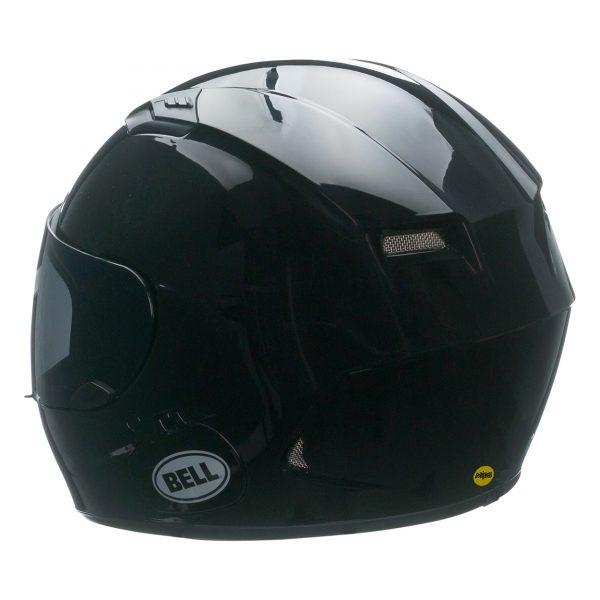 bell-qualifier-dlx-mips-street-helmet-gloss-black-back-left-BELL QUALIFIER DLX MIPS SOLID GLOSS BLACK