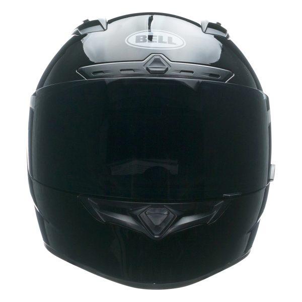 bell-qualifier-dlx-mips-street-helmet-gloss-black-front-BELL QUALIFIER DLX MIPS SOLID GLOSS BLACK
