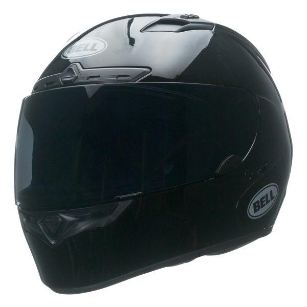 bell-qualifier-dlx-mips-street-helmet-gloss-black-front-left-BELL QUALIFIER DLX MIPS SOLID GLOSS BLACK