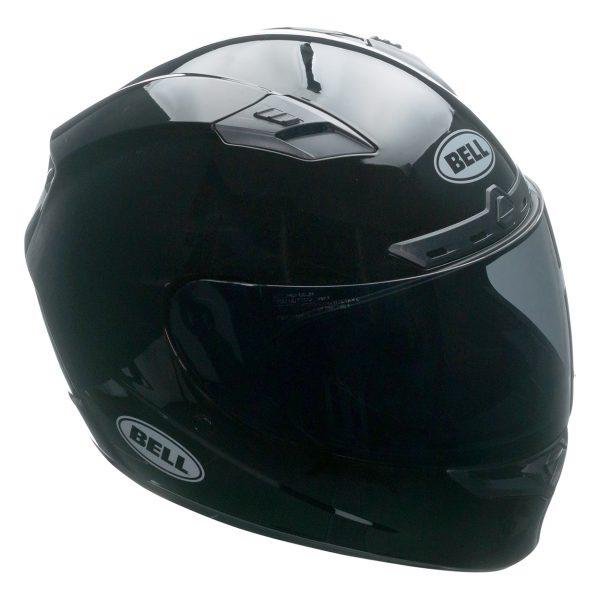 bell-qualifier-dlx-mips-street-helmet-gloss-black-front-right-BELL QUALIFIER DLX MIPS SOLID GLOSS BLACK