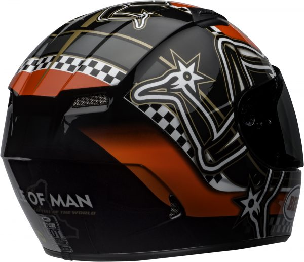 bell-qualifier-dlx-mips-street-helmet-isle-of-man-2020-gloss-red-black-white-back-right-BELL QUALIFIER DLX MIPS ISLE OF MAN GLOSS BLACK RED