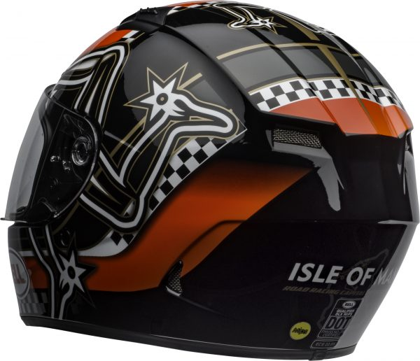 bell-qualifier-dlx-mips-street-helmet-isle-of-man-2020-gloss-red-black-white-clear-shield-back-left-BELL QUALIFIER DLX MIPS ISLE OF MAN GLOSS BLACK RED