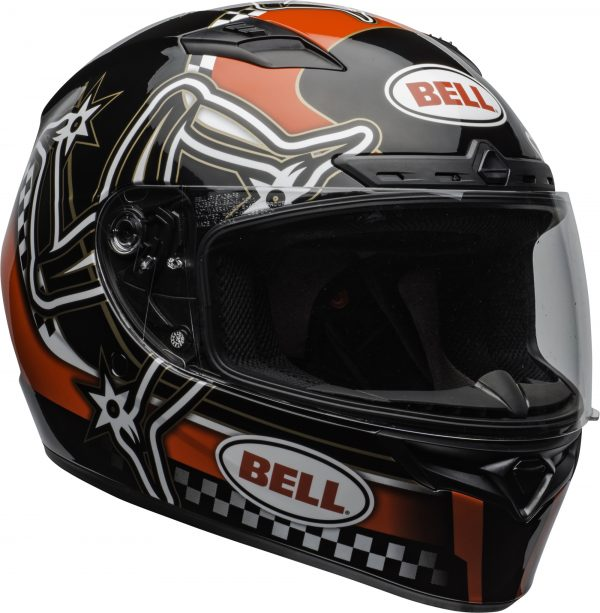 bell-qualifier-dlx-mips-street-helmet-isle-of-man-2020-gloss-red-black-white-clear-shield-front-right-BELL QUALIFIER DLX MIPS ISLE OF MAN GLOSS BLACK RED