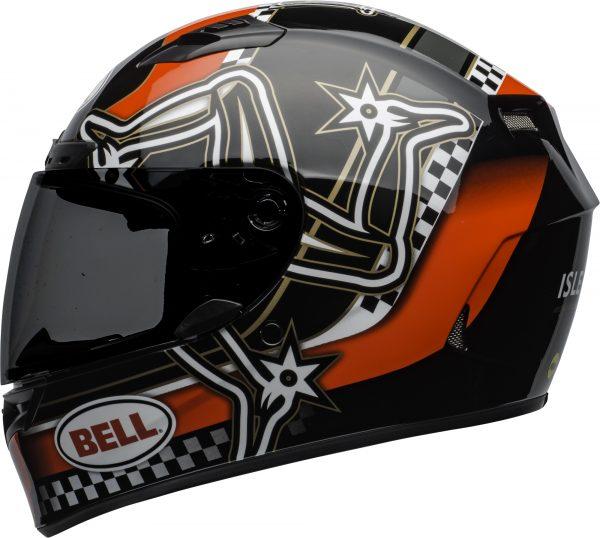 bell-qualifier-dlx-mips-street-helmet-isle-of-man-2020-gloss-red-black-white-left-BELL QUALIFIER DLX MIPS ISLE OF MAN GLOSS BLACK RED
