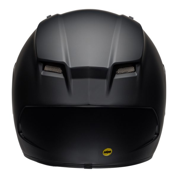 bell-qualifier-dlx-mips-street-helmet-matte-black-back-BELL QUALIFIER DLX MIPS SOLID MATT BLACK
