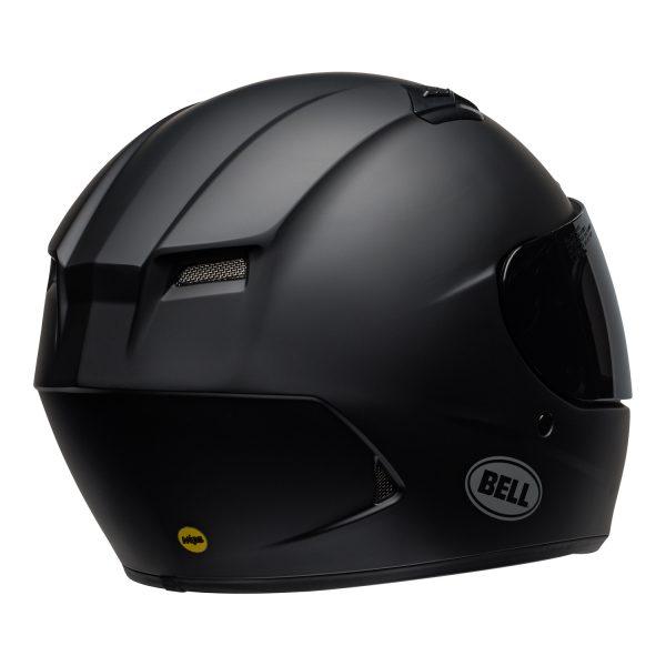 bell-qualifier-dlx-mips-street-helmet-matte-black-back-right-BELL QUALIFIER DLX MIPS SOLID MATT BLACK