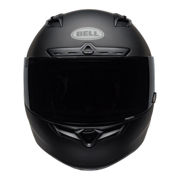 bell-qualifier-dlx-mips-street-helmet-matte-black-front-BELL QUALIFIER DLX MIPS SOLID MATT BLACK