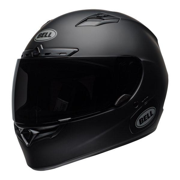 bell-qualifier-dlx-mips-street-helmet-matte-black-front-left-BELL QUALIFIER DLX MIPS SOLID MATT BLACK