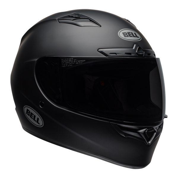bell-qualifier-dlx-mips-street-helmet-matte-black-front-right-BELL QUALIFIER DLX MIPS SOLID MATT BLACK