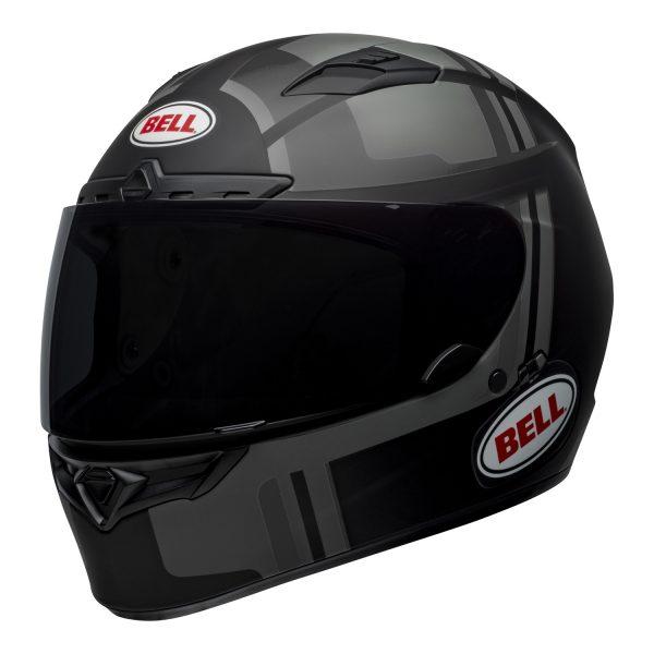 bell-qualifier-dlx-mips-street-helmet-torque-matte-black-gray-front-left-BELL QUALIFIER DLX MIPS TORQUE MATT BLACK GREY