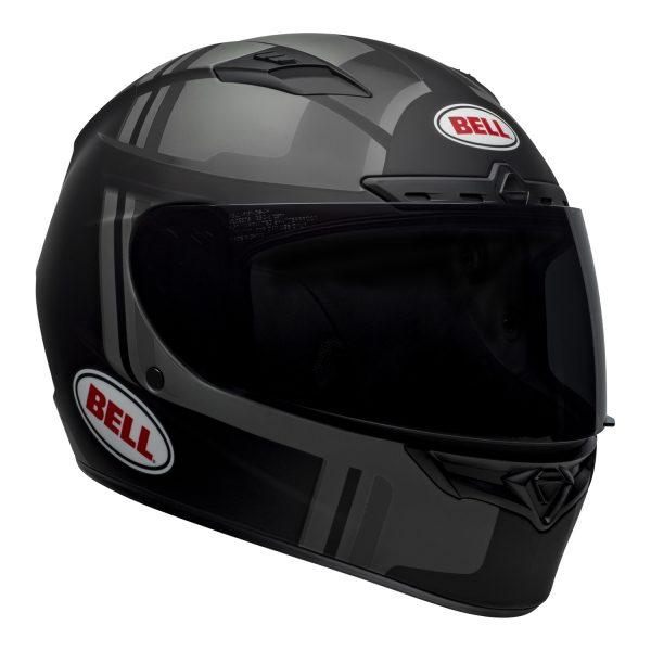 bell-qualifier-dlx-mips-street-helmet-torque-matte-black-gray-front-right-BELL QUALIFIER DLX MIPS TORQUE MATT BLACK GREY