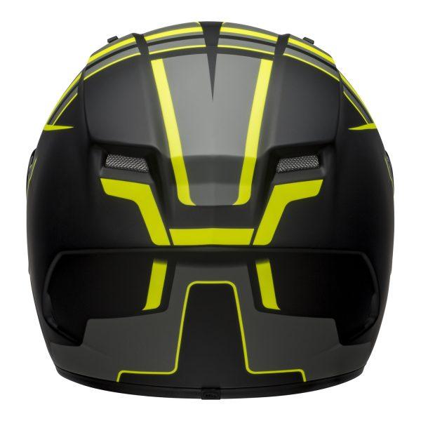 bell-qualifier-dlx-mips-street-helmet-torque-matte-black-hi-viz-back-BELL QUALIFIER DLX MIPS TORQUE MATT BLACK HI-VIZ